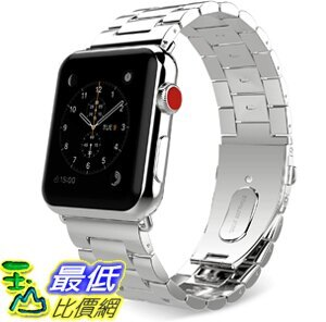 [9美國直購] 錶帶 MoKo Compatible Band Replacement for Apple Watch, Stainless Steel Metal Replacement Band