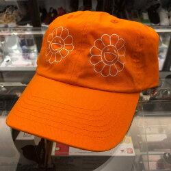 展場限定 現貨 BEETLE 2018 村上隆 CAP 橘色 花朵 LOGO 經典 老帽 棒球帽 可調式 男女款