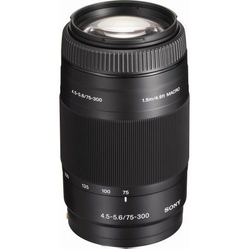 Sony Lens A 75-300mm f/4.5-5.6 Telephoto