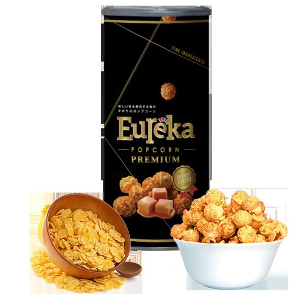 燕麥奶油焦糖 -【EUREKA爆米花】★100克精緻派對罐★團購派對聚餐首選零食