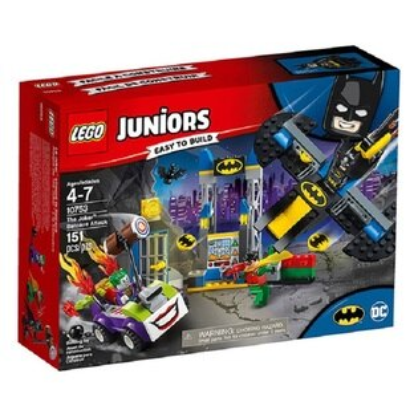 LEGO樂高Juniors10753小丑的蝙蝠洞攻擊【鯊玩具ToyShark】