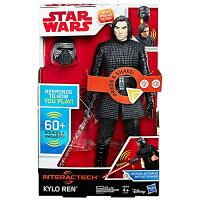 《 STAR WARS 》星際大戰電影 8 - 12 吋互動式電子英雄人物 KYLO REN