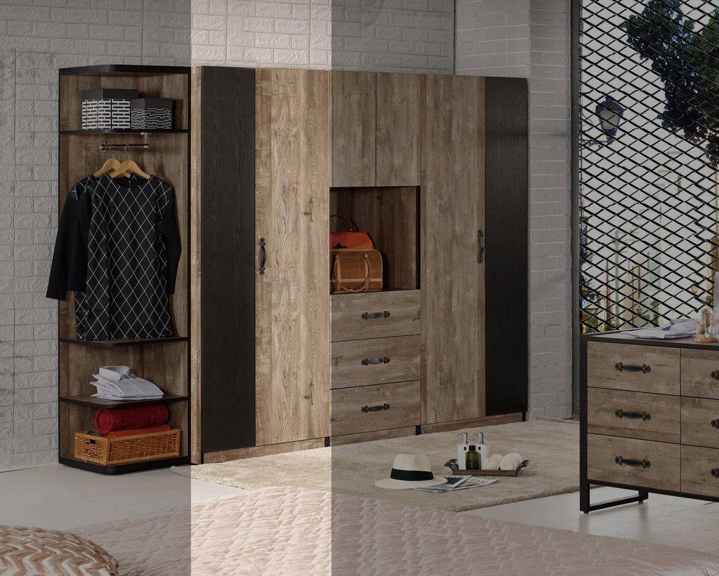 【尚品傢俱】CM-603-2 格雷森2.6尺衣櫥(雙吊)