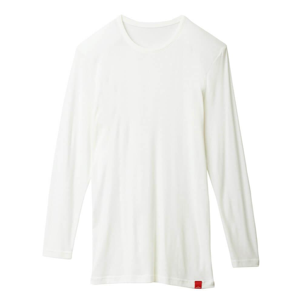 【Gunze郡是】熱魔力 男仕圓領輕薄發熱衣長袖 3