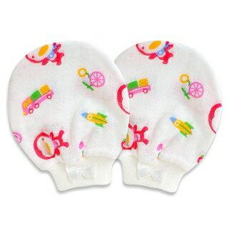 『121婦嬰用品館』PUKU印花手套 0-12m 1