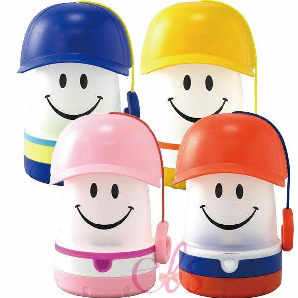 日本進口 SMILE LED 微笑帽 吊掛LED燈 黃色/藍色/粉紅/紅色 四款供選 露營 ☆艾莉莎ELS☆