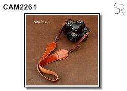 [滿3千,10%點數回饋]【Cam.in】潮流相機背帶 型號:CAM2263 顏色:黃棕色