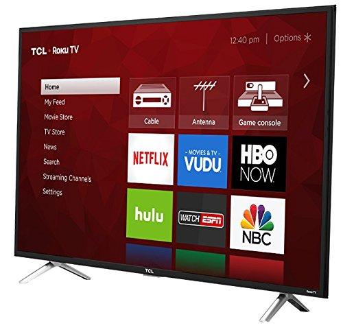 "TCL 49S405 - 49"" Roku Smart 4K 120Hz UHD HDR HDTV 2"