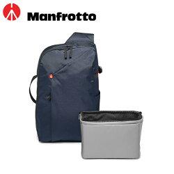 ◎相機專家◎ Manfrotto 開拓者單眼 斜肩背包 相機包 藍色 MB NX-S-IBU-2 公司貨