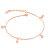 【5折超值價】情人節禮物時尚精美精緻極簡設計造型女款鈦鋼腳鏈 - 限時優惠好康折扣