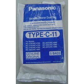 金禾家電生活美學館:國際牌Panasonic吸塵器紙袋TYPE-C-11