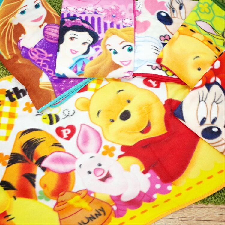 PGS7 迪士尼系列商品 - 迪士尼 小 毛毯 毯子 米奇 米妮 維尼 迪士尼公主【SFK7287】
