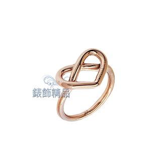 【錶飾精品】Calvin Klein CK飾品 KJ6BPR1001 甜美心形戒指 IP玫金 316L白鋼 全新原廠正品