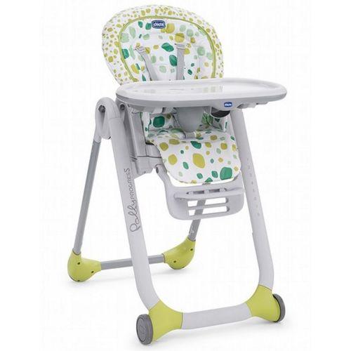 Chicco Polly Progres 五合一多 成長高腳餐椅-奇異果綠★衛立兒 館★