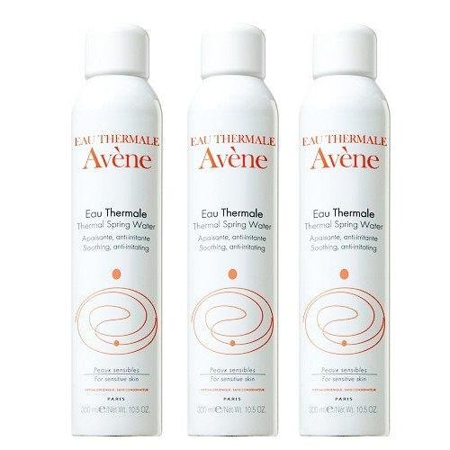 Avene雅漾舒護活泉水300mlx3加贈黑人專業護齦抗敏感牙膏120g