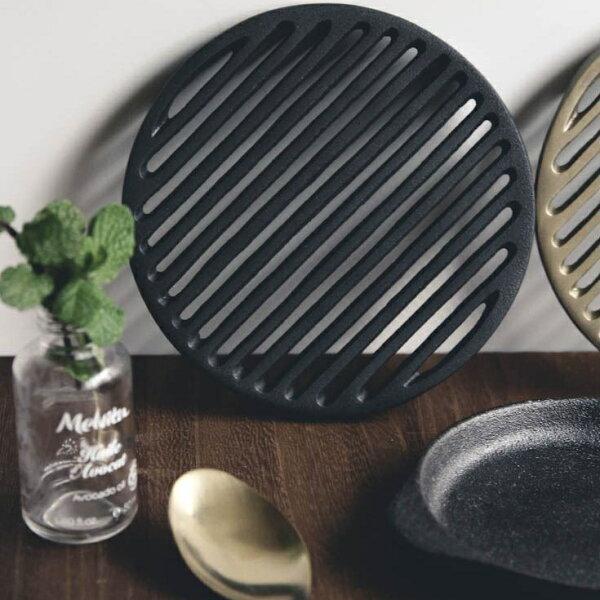 喜鵲先生1號店:丹麥經典手感霧黑工業隔熱桌墊