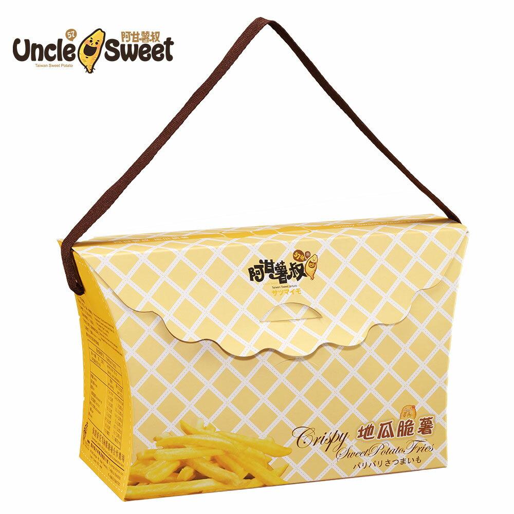 地瓜脆薯禮盒(6入裝)-全素❋無添加任何糖類-吃得出最經典的原味