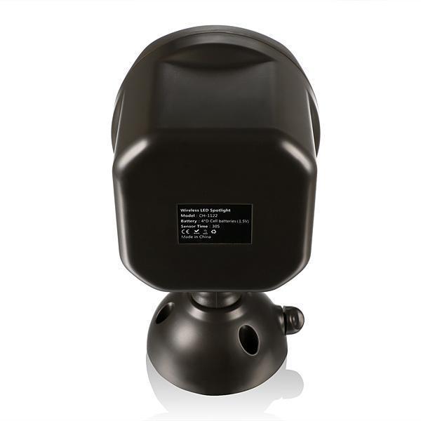 Weatherproof Wireless LED Spotlight Wall Light PIR Motion Sensor Light Sensor 3