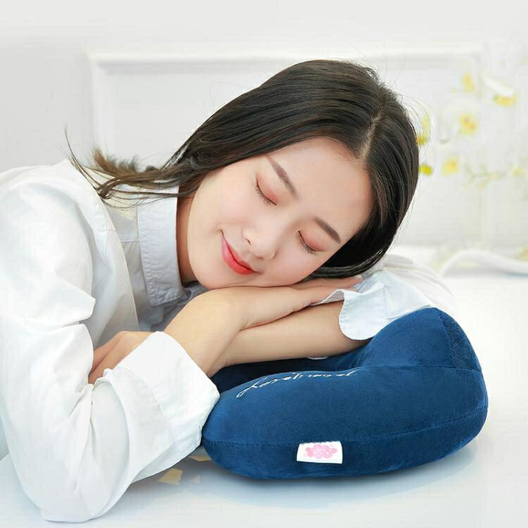 u型枕旅行辦公室午睡護脖子頸椎枕飛機u形頸枕汽車成人午休枕靠枕
