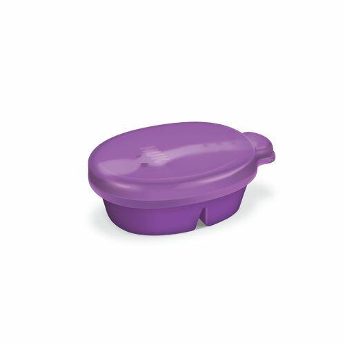 ★衛立兒生活館★NUK 寶寶外出分隔餐盒組(附蓋)(顏色隨機出貨)
