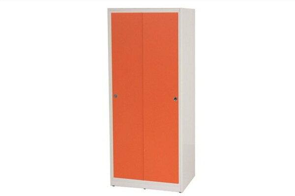 【石川家居】832-03(桔白色)拉門衣櫥(CT-114)#訂製預購款式#環保塑鋼P無毒防霉易清潔
