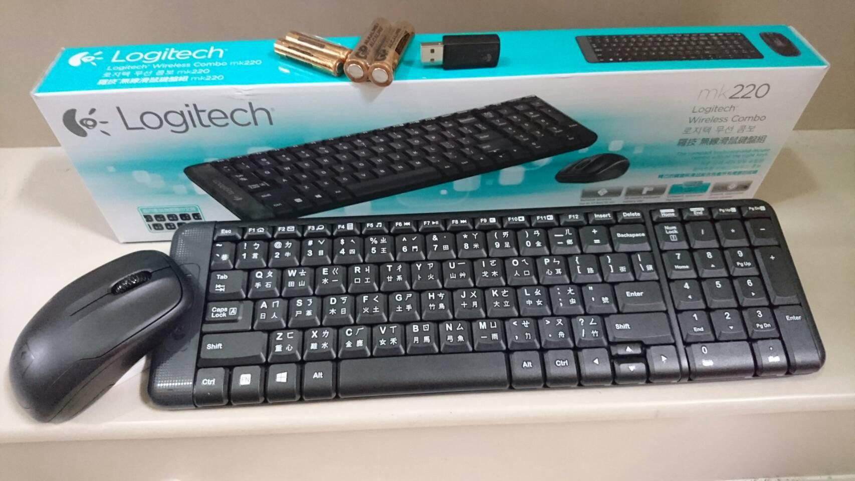 團購價 第一品牌 有注音 mk220 羅技無線鍵盤滑鼠組 電競滑鼠電競鍵盤 桌上型電腦 筆記型電腦 LOL英雄聯盟 6