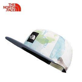 [ THE NORTH FACE ] 渲染印花棒球帽 白 / 公司貨 NF0A2SBQRAP