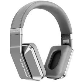 志達電子精品專賣:志達電子Inspiration銀色MonsterR魔聲Inspiration主動抗噪式耳罩式耳機