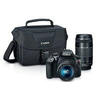 Canon EOS Rebel T6 Digital SLR Camera Kit with EF-S 18-55mm & EF 75-300mm Lenses