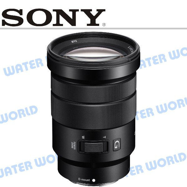 【中壢NOVA-水世界】SELP18105G SONY E 18-105mm F4 G OSS 公司貨