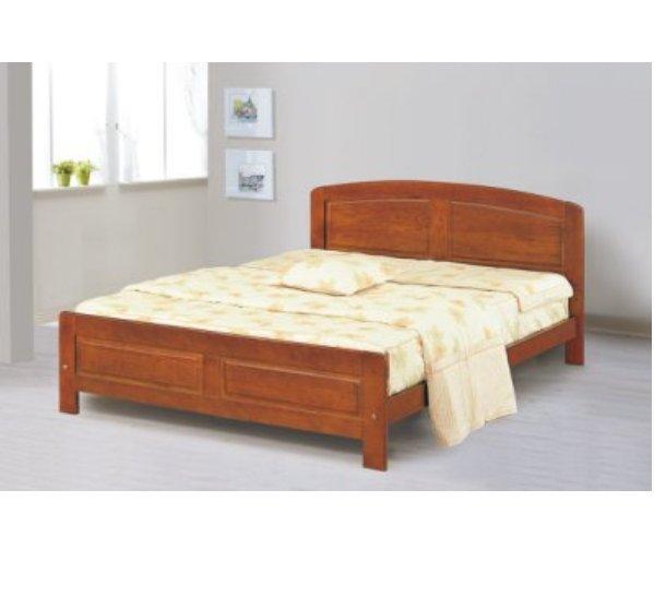 【石川家居】AF-599-4 歌麗雅3.5尺單人床架_柚木色  不含床墊及含   台北到高