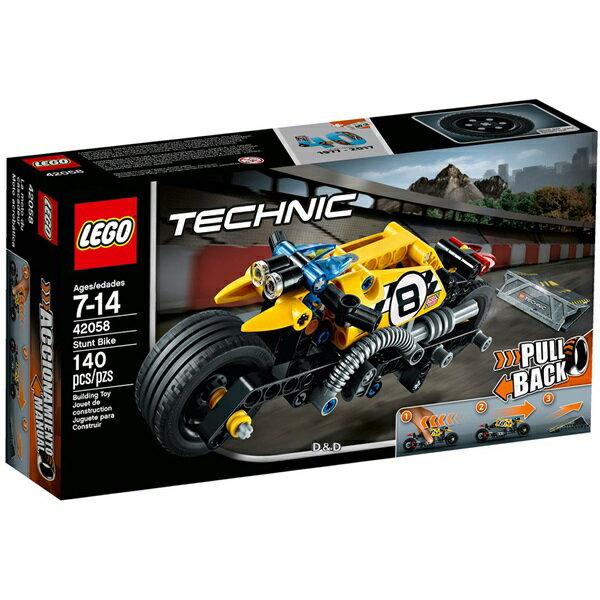 樂高積木LEGO《 LT42058 》2017 年 Technic 科技系列 - 特技摩托車