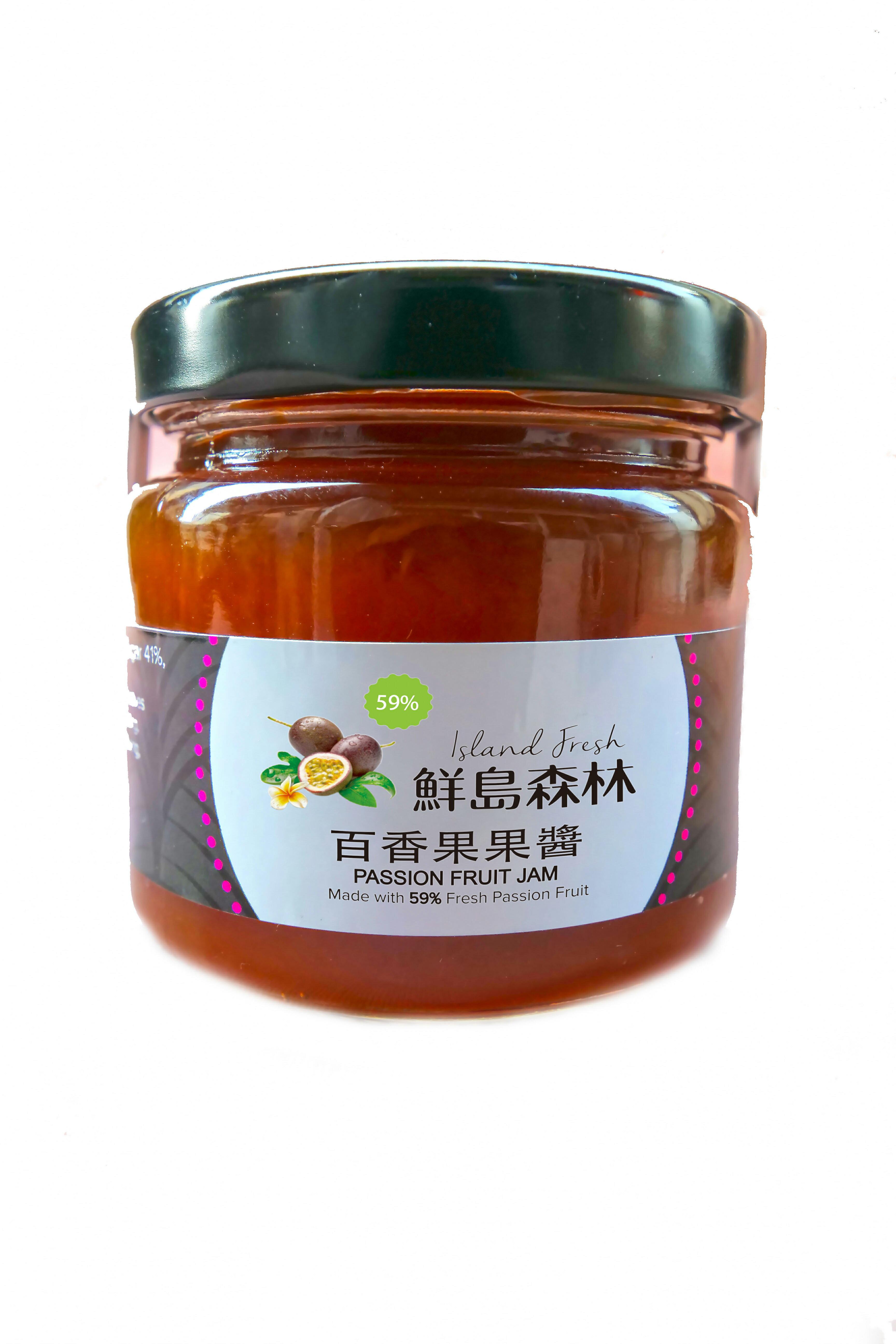 百香果果醬186g【鮮島森林】