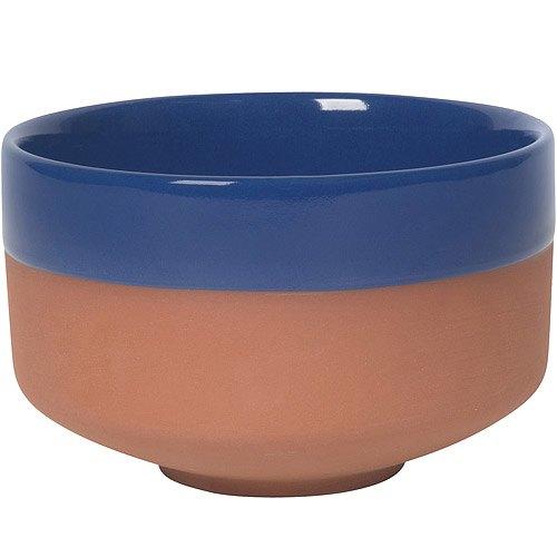 《NOW》雙色赤陶圓碗(藍)