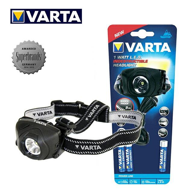 VARTA德國華達 全防護專業型 1W強光頭燈17731