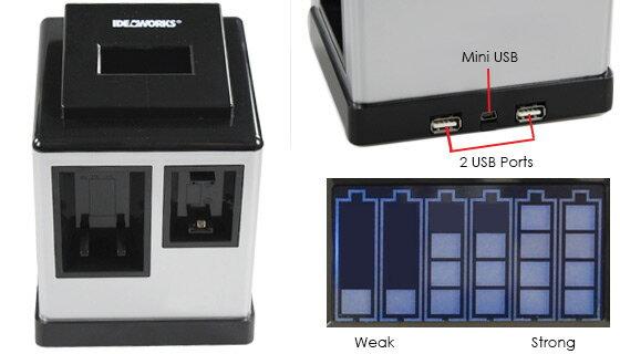 USB Battery Charging + Testing Station 1