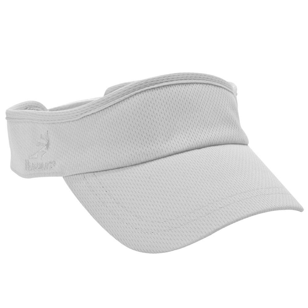 HEADSWEATS 全白遮陽帽 帽圈CoolMax材質 重量輕 舒適 快乾 魔鬼氈調整頭圍大小