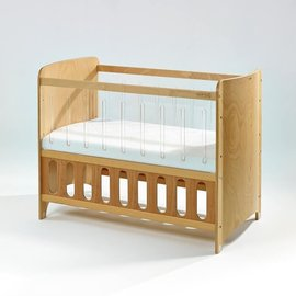 【淘氣寶寶●下標前請先提問】Bendi I-LU CLEAN 透明多功能嬰兒中床-原木色中床 65 x 124 x 高90cm【全配】 - 限時優惠好康折扣