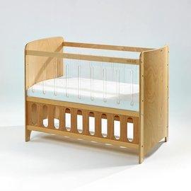 【淘氣寶寶●下標前請先提問】BendiI-LUCLEAN透明多功能嬰兒中床-原木色中床65x124x高90cm【全配】