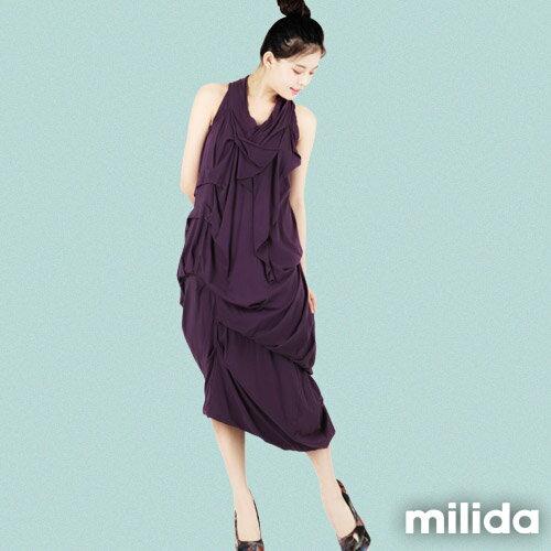 【Milida,全店七折免運】-春夏商品-無袖款-露背小禮服 1