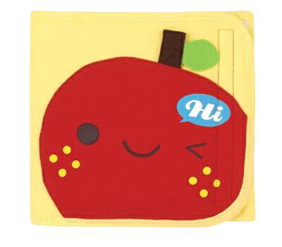 『121婦嬰用品館』拉孚兒 舒棉造型小肚圍 - 蘋果 0