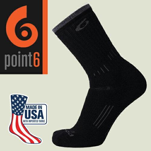 【Point6美國】hikingessential健行羊毛襪美麗諾羊毛襪運動襪登山襪戶外襪/2530-204