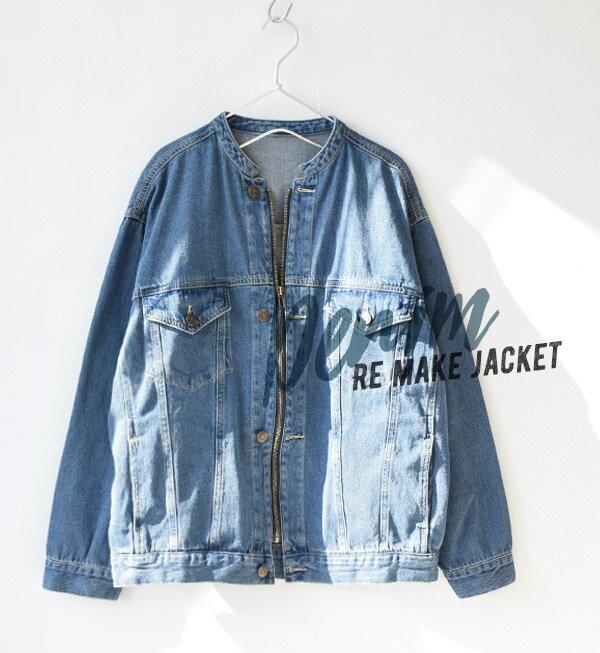 e-zakkamania / 率性牛仔外套 / 32617-1801243。2色。(4902)日本必買代購 / 日本樂天 2