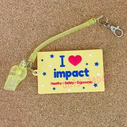 【真愛日本】18062500003 怡寶impact限量版名牌卡套附口哨 怡寶 impact限量版 卡片套 口哨 名牌卡 事務用品