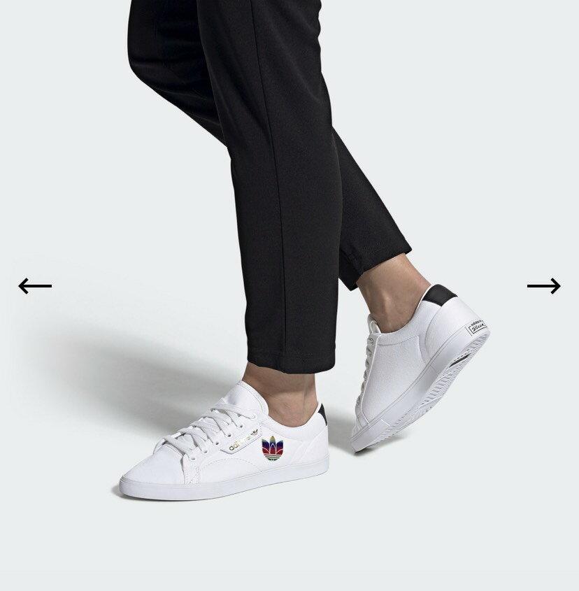 Adidas 女生 小白鞋us5~11 特價$2xxx