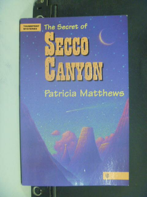 【書寶二手書T4/原文小說_NLX】The Secret of Secco Canyon_Matthews