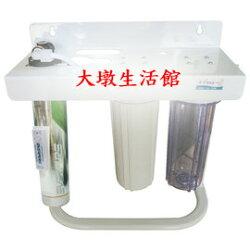【清淨淨水店】美國Everpure S-104/S104三道淨水器《生飲級》搭配2道NSF+ S-104(平輸)2750元。
