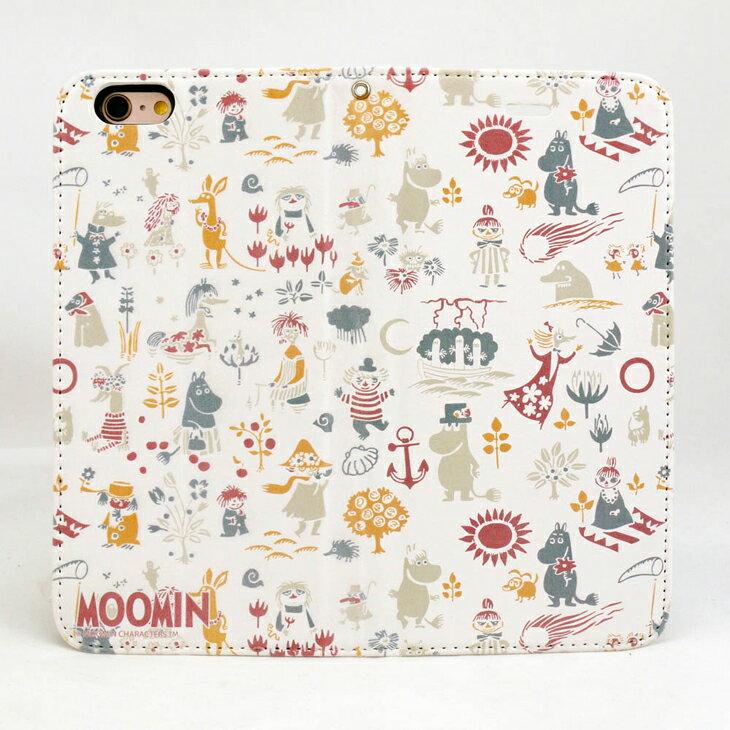 Moomin嚕嚕米正版授權-磁吸手機皮套:【 歡樂谷的夏日(哈密瓜)(白)】《 iPhone/Samsung/HTC/ASUS/Sony/小米 》