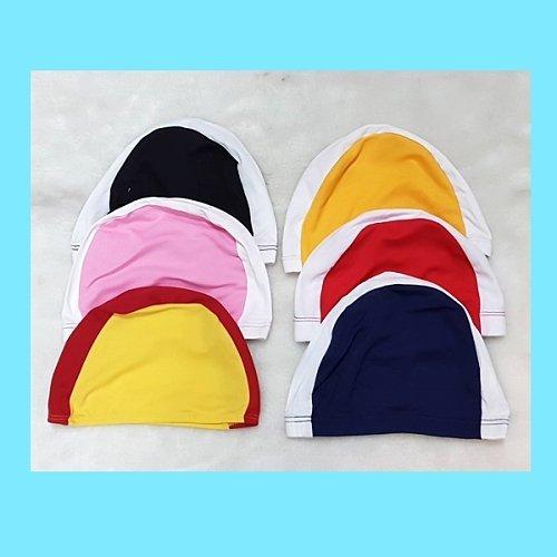 ☆小薇的店☆兒童專用雙色拼接台灣製優質特多龍泳帽特價35元
