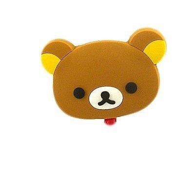 【真愛日本】14060600003 造型伸縮證件帶-拉拉熊 拉拉熊 懶熊 奶妹 奶熊 票卡夾 伸縮帶